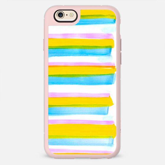 Summer Colors Brushstrokes -