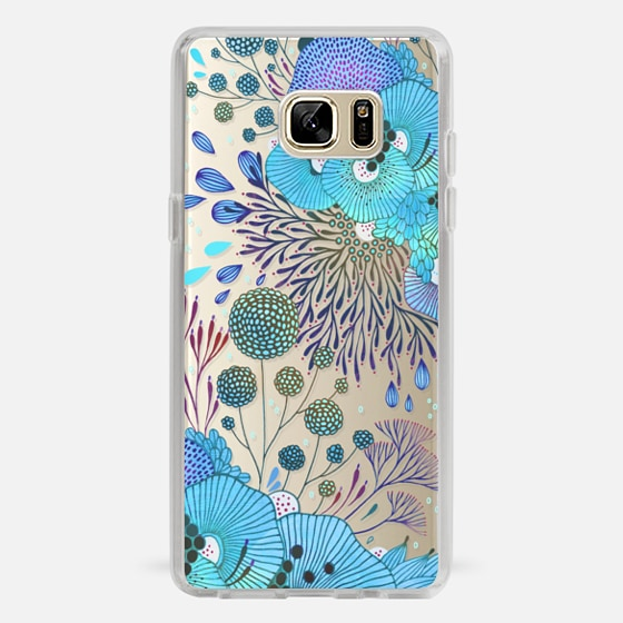 Galaxy Note 7 Case - Floral