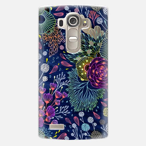LG G4 Case - Dark Floral