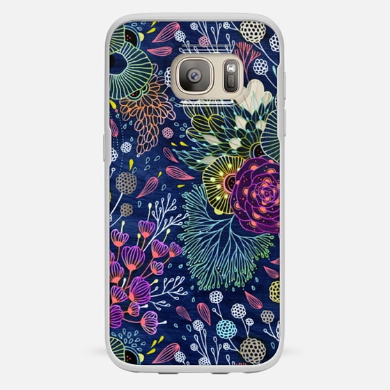 Galaxy S7 Case - Dark Floral