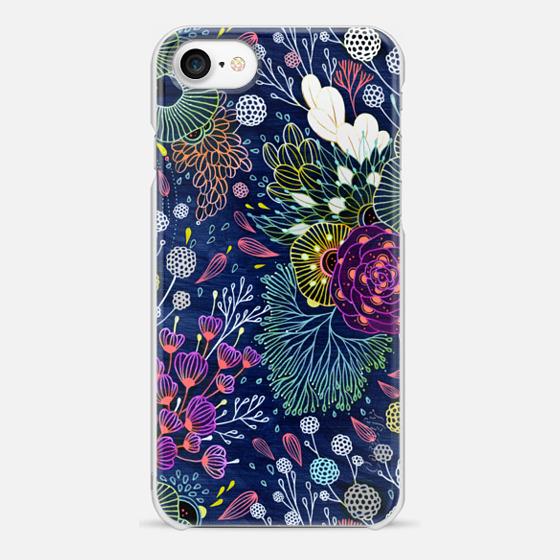 iPhone 7 Case - Dark Floral