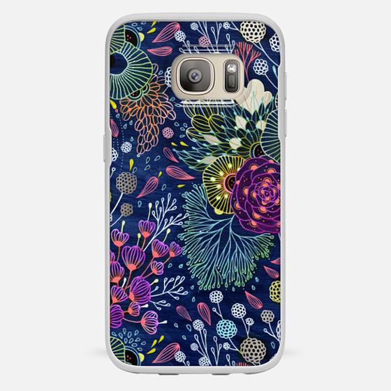 Galaxy S7 Case - Dark Floral