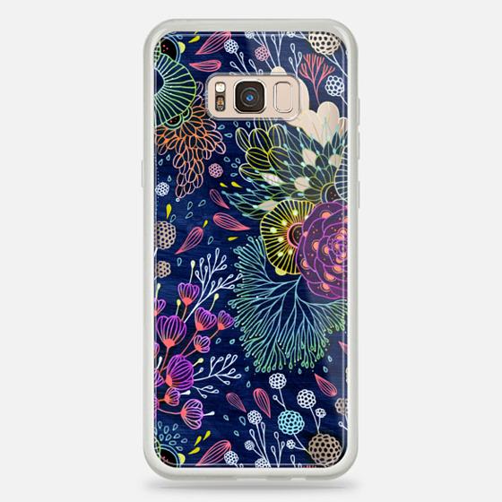 Galaxy S8+ 保护壳 - Dark Floral