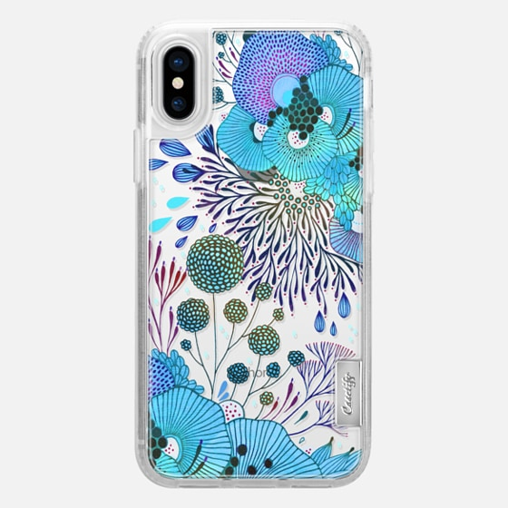 iPhone X 保護殼 - Floral