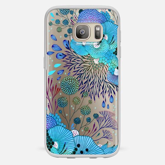Galaxy S7 保護殼 - Floral