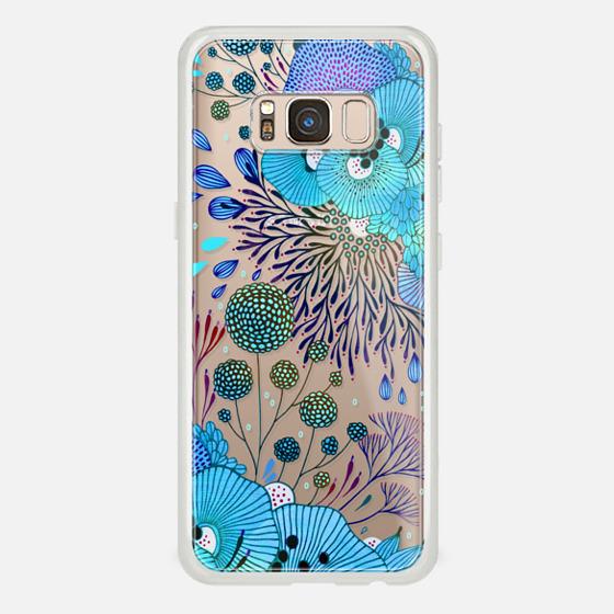 Galaxy S8 Funda - Floral