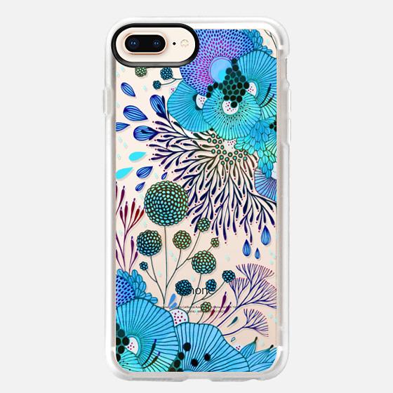iPhone 8 Plus Hülle - Floral