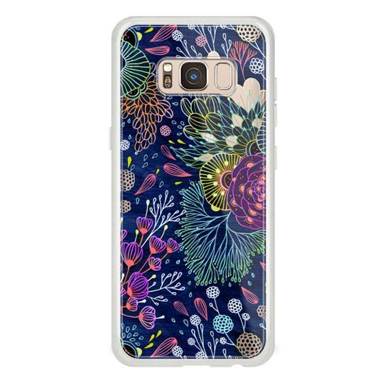 Galaxy S8 케이스 - Dark Floral