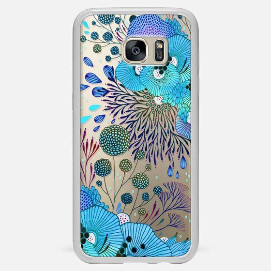 Galaxy S7 Edge เคส - Floral