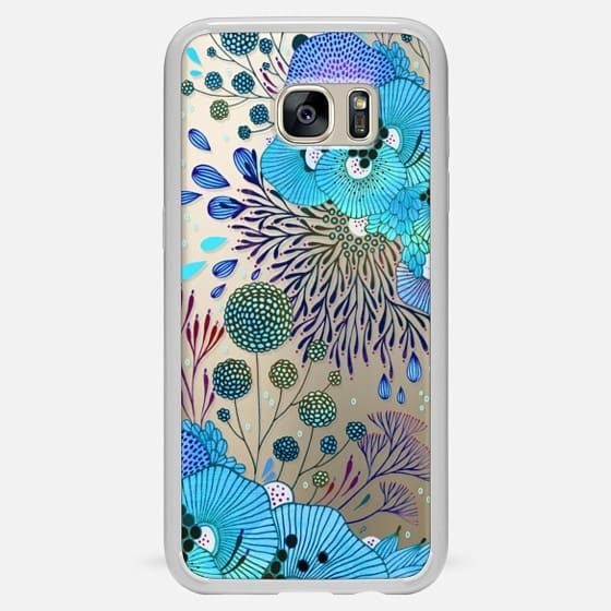 Galaxy S7 Edge Case - Floral