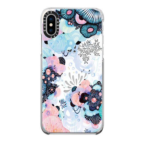 iPhone X Cases - Blue Amble