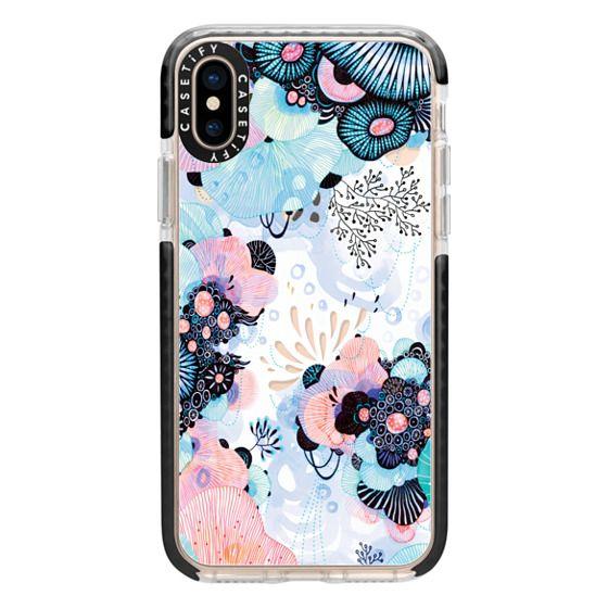 iPhone XS Cases - Blue Amble