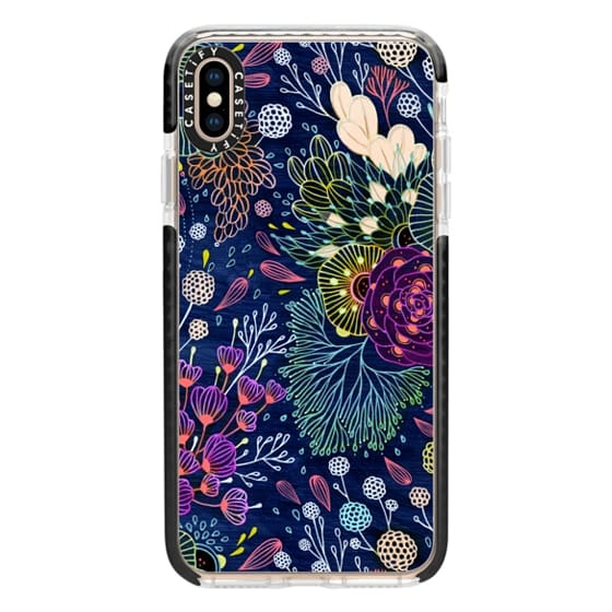iPhone XS Max Cases - Dark Floral