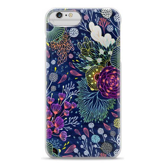 iPhone 6 Plus Cases - Dark Floral