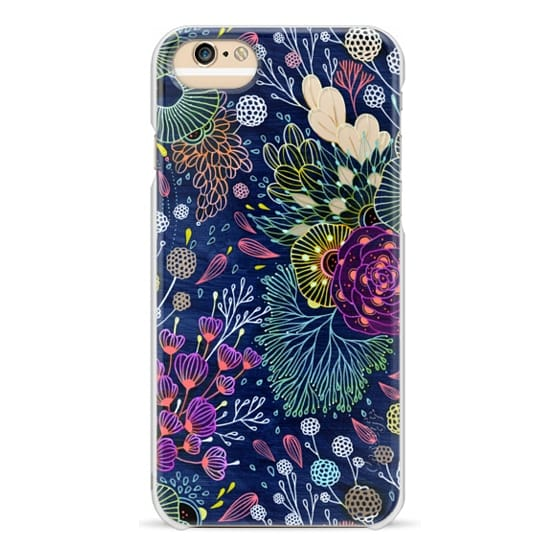iPhone 4 Cases - Dark Floral