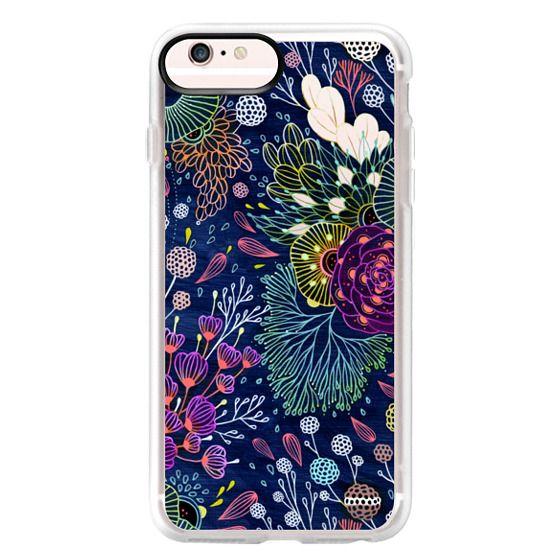 iPhone 6s Plus Cases - Dark Floral