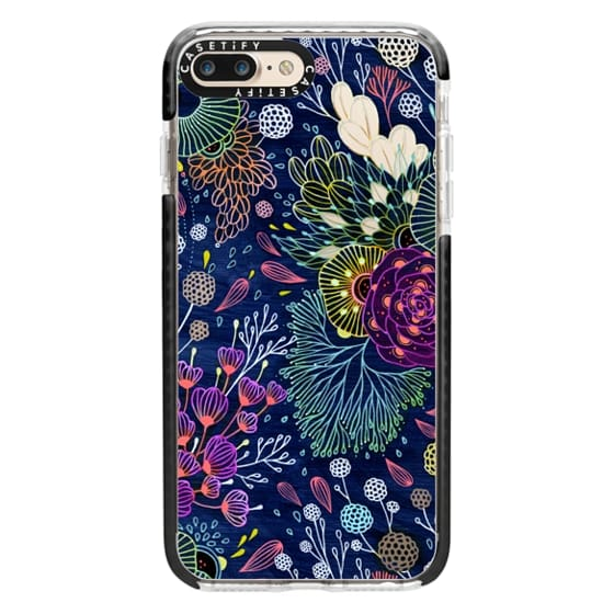 iPhone 7 Plus Cases - Dark Floral