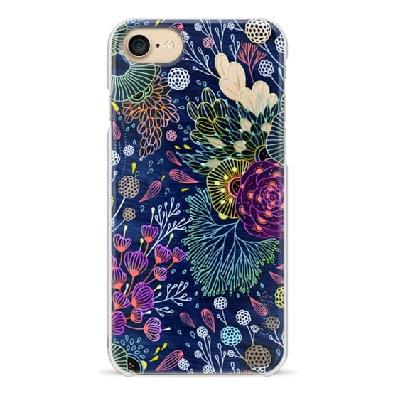 iPhone 7 Cases - Dark Floral