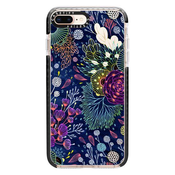 iPhone 8 Plus Cases - Dark Floral