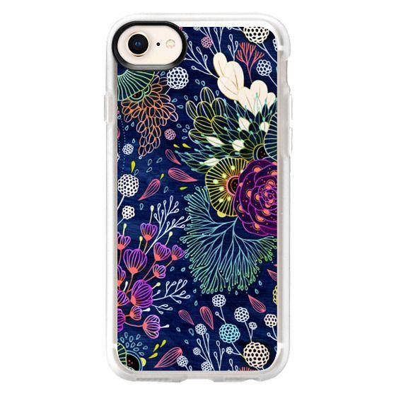 iPhone 8 Cases - Dark Floral