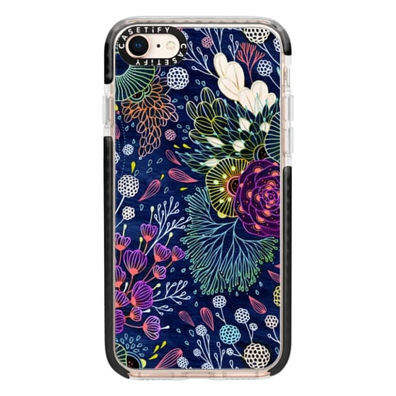 iPhone 8 Cases - Dark Floral