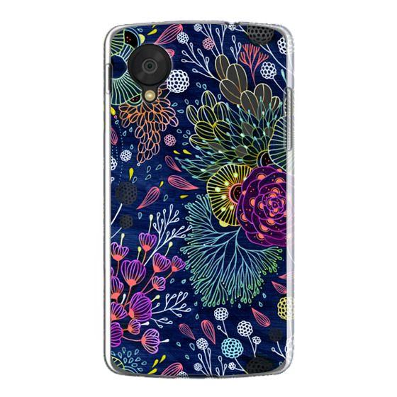 Nexus 5 Cases - Dark Floral