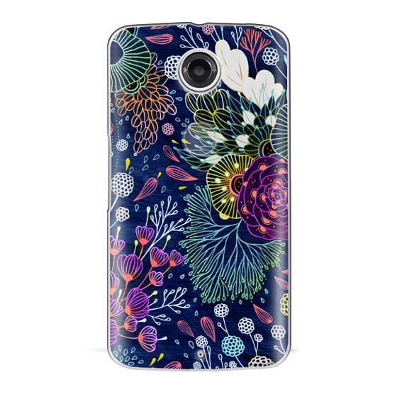 Nexus 6 Cases - Dark Floral
