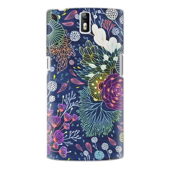 One Plus One Cases - Dark Floral