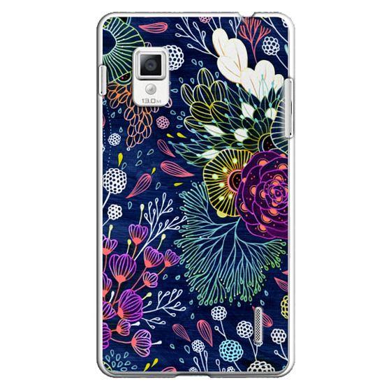Optimus G Cases - Dark Floral