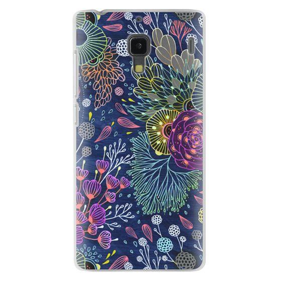 Redmi 1s Cases - Dark Floral