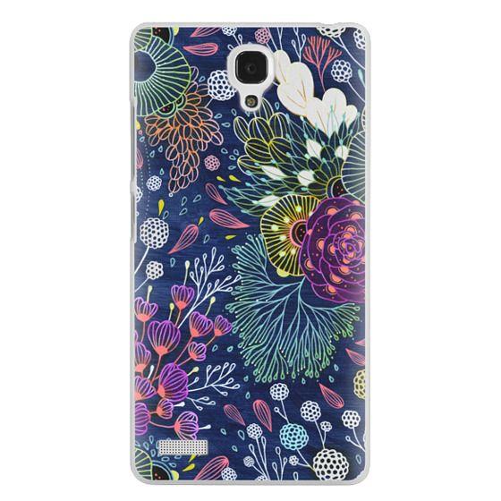 Redmi Note Cases - Dark Floral
