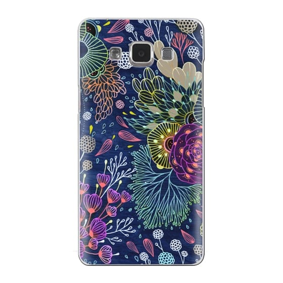 Samsung Galaxy A5 Cases - Dark Floral