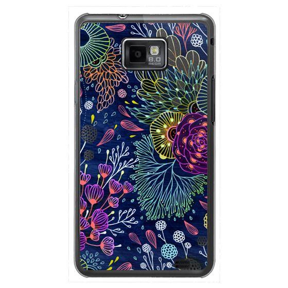 Samsung Galaxy S2 Cases - Dark Floral