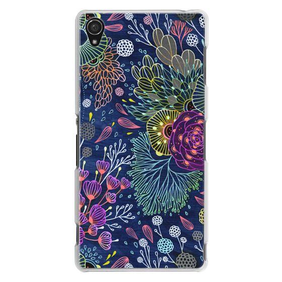 Sony Z3 Cases - Dark Floral