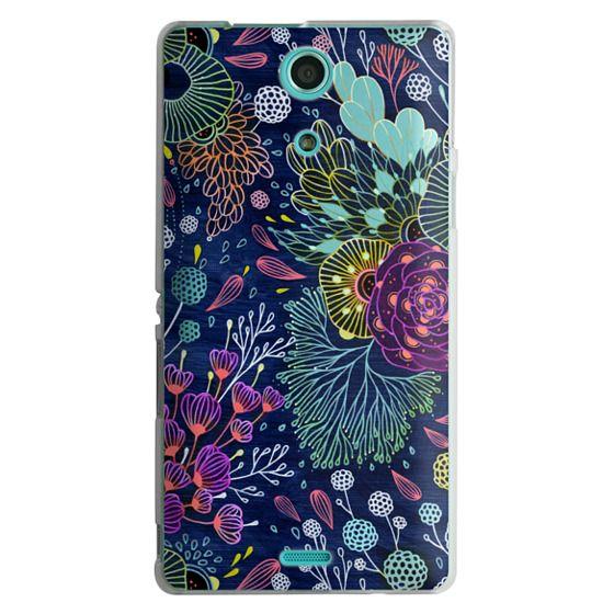 Sony Zr Cases - Dark Floral