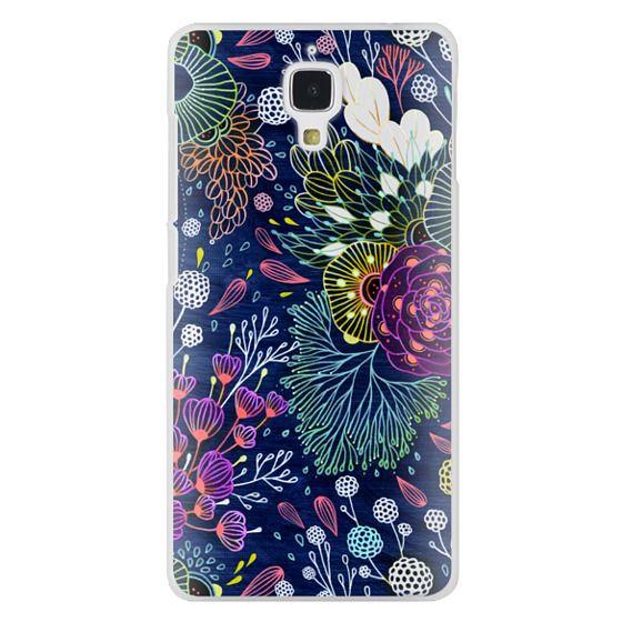 Xiaomi 4 Cases - Dark Floral