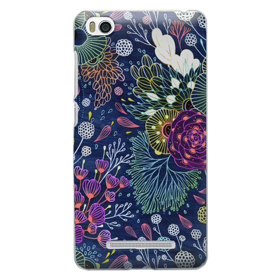 Xiaomi 4i Cases - Dark Floral