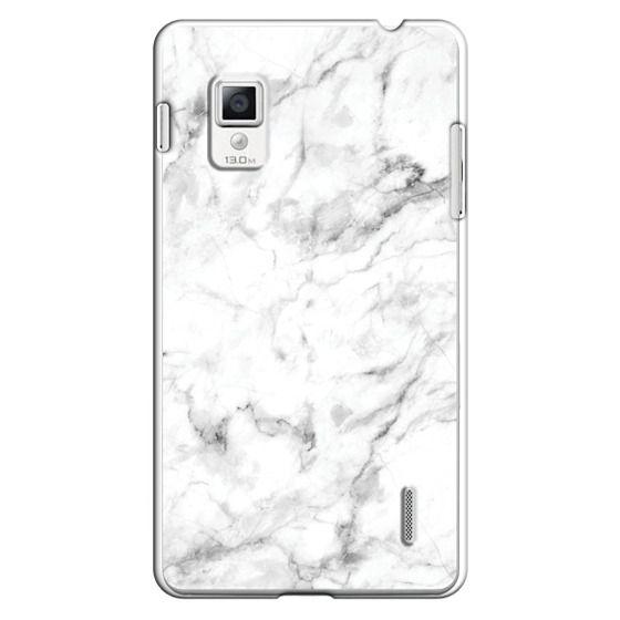 Optimus G Cases - White Marble