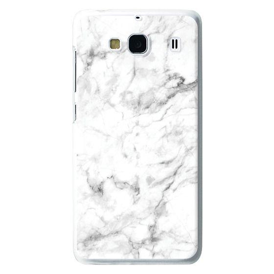 Redmi 2 Cases - White Marble