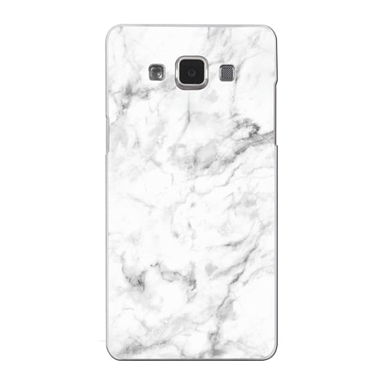 Samsung Galaxy A5 Cases - White Marble