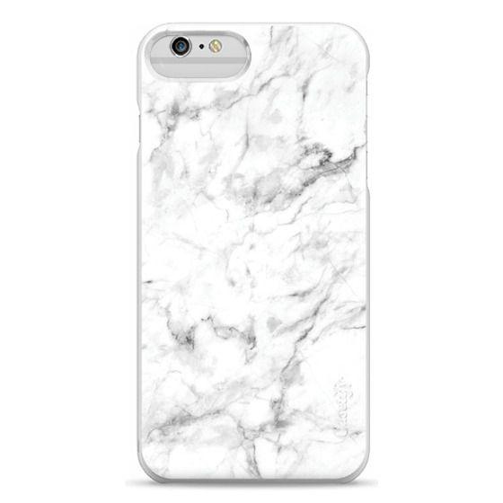 iPhone 6 Plus Cases - White Marble