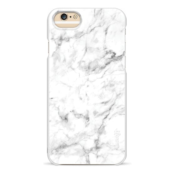 iPhone 6 Cases - White Marble