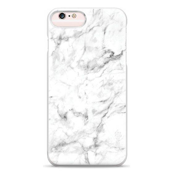 iPhone 6s Plus Cases - White Marble