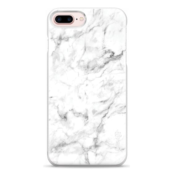 iPhone 7 Plus Cases - White Marble