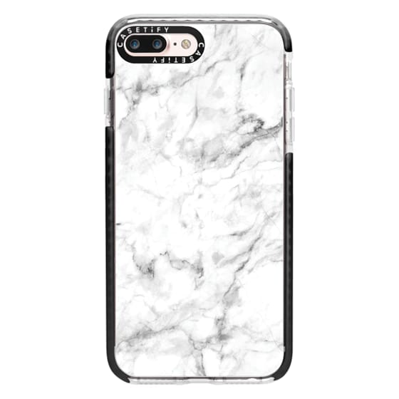 iPhone 7 Plus Cases - White Marble