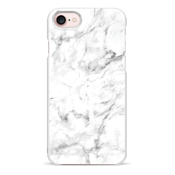 iPhone 7 Cases - White Marble