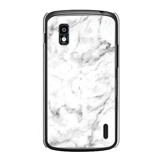 Nexus 4 Cases - White Marble