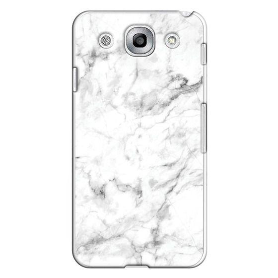 Optimus G Pro Cases - White Marble