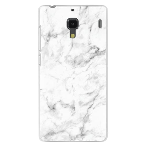 Redmi 1s Cases - White Marble
