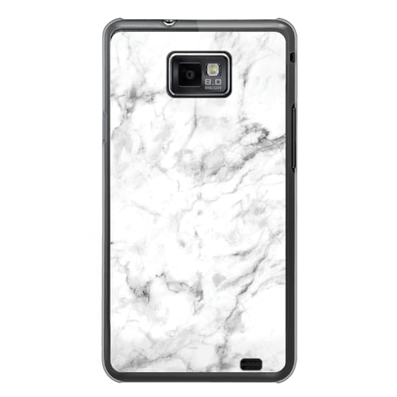 Samsung Galaxy S2 Cases - White Marble
